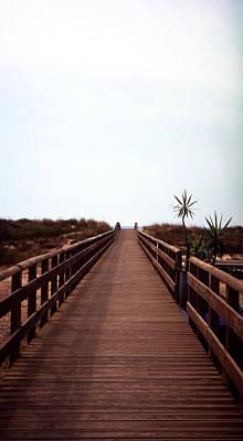 Photograph - Bridge To The Beach by Luis Esteves