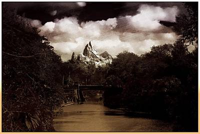 Lucille Ball - Bridge to the Himalayas  by Chris Mcmannes