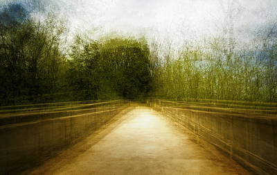 Bridge To The Invisible Print by Scott Norris