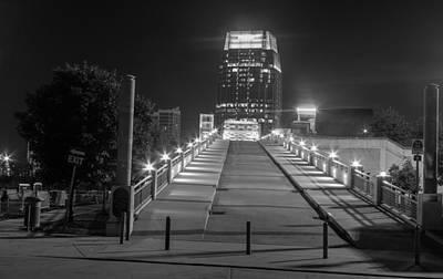Photograph - Bridge To The Pinnacle by Robert Hebert