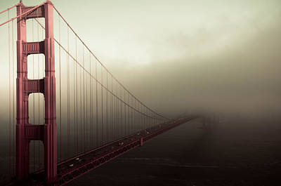 Bridge To The Unknown Print by Jeffrey Yeung
