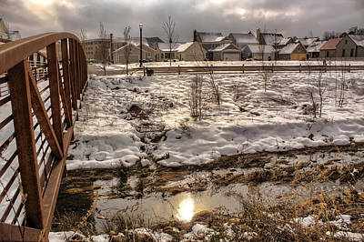 Photograph - Bridge To The Village by Jason Politte