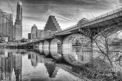 Bridge Toward Austin Art Print by Terri Morris