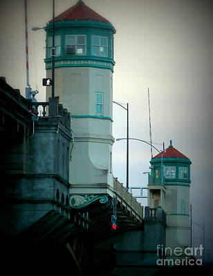 Photograph - Bridge Towers View by Susan Garren