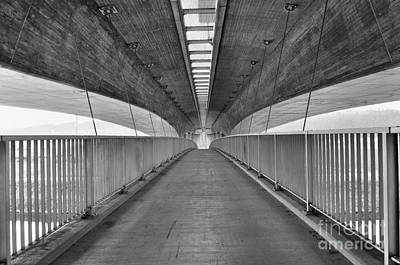 Bridge Under The Bridge Art Print by Jan Havlicek