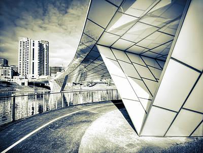Photograph - Bridge by Wayne Sherriff