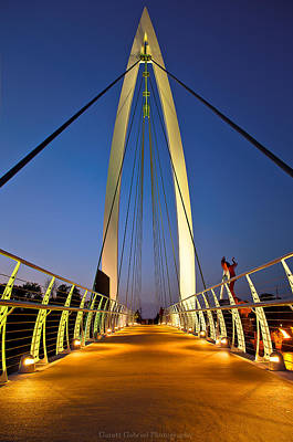 Bridge With Light Art Print