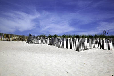 Sand Fences Photograph - Bridgehampton Beach - Fences by Madeline Ellis