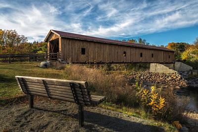 Landsacape Photograph - Bridgeing The Gap by Mark Papke