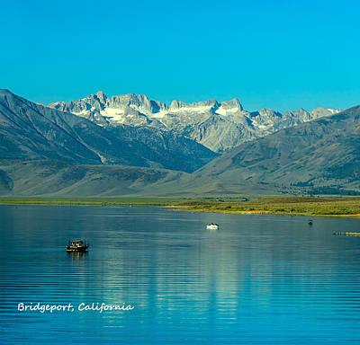 Photograph - Bridgeport Resevoir California Sierra Nevada by LeeAnn McLaneGoetz McLaneGoetzStudioLLCcom