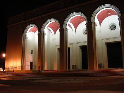 Photograph - Bridges Auditorium by Pomona College