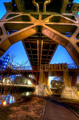 Deutsch Digital Art - Bridges Coming Together by Nathan Wright