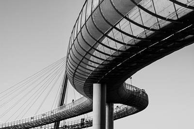 Photograph - Bridges In The Sky by Andrea Mazzocchetti