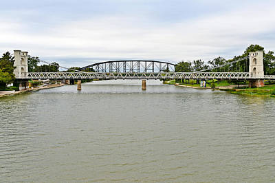 Photograph - Bridges In Waco Tx by Christine Till