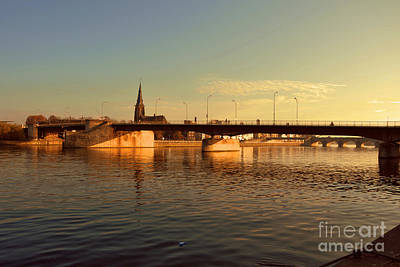 Photograph - Bridges Of Maastricht by Nop Briex