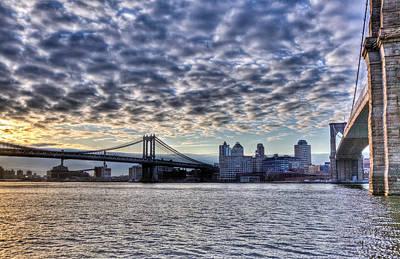 Bridges Of New York Art Print
