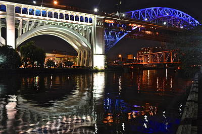 Photograph - Bridges Over Cuyahoga by Frozen in Time Fine Art Photography
