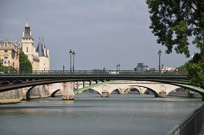 Photograph - Bridges Over The Seine And Conciergerie - Paris by RicardMN Photography