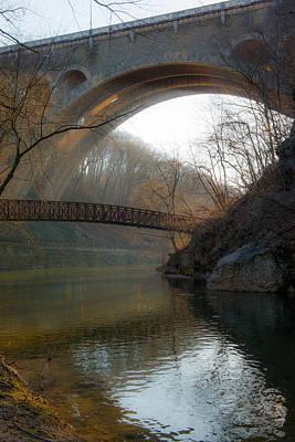 Wissahickon Photograph - Bridges by Scott Hafer