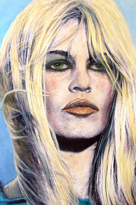 Bridget Bardot Original by Anette Liene