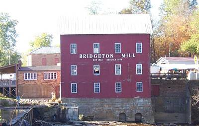 Photograph - Bridgeton Mill by John Mathews