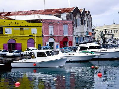 Bridgetown Photograph - Bridgetown Barbados by Sophie Vigneault