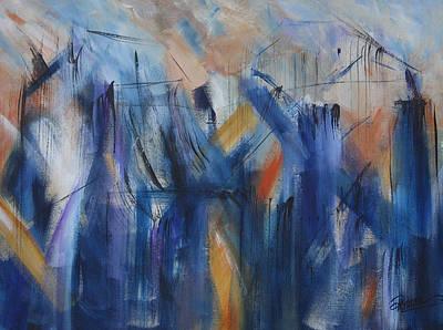 Painting - Bridging by Roberta Rotunda