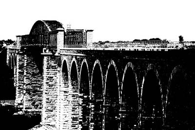 Photograph - Bridging The Boyne by Charlie and Norma Brock