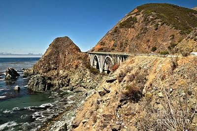 Photograph - Bridging The Coast by Adam Jewell