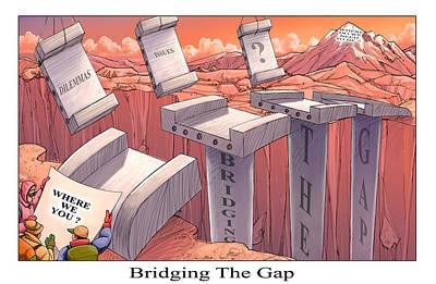 Digital Art - Bridging The Gap by Richard Erickson