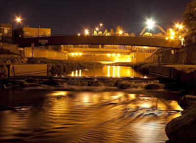 American Milestones - Bridging the Night by Angus Hooper Iii