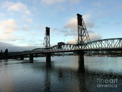 Photograph - Bridging The River by Susan Garren