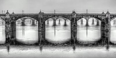 Susquehanna River Photograph - Bridging The Susquehanna  by JC Findley