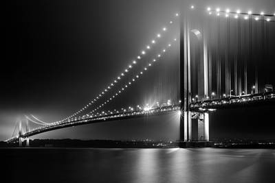 Bridging Verrazano Narrows Art Print