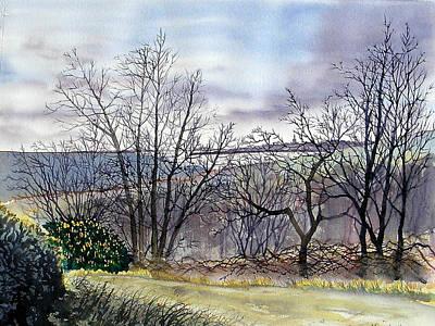 Painting - Bridlington Bay From Dane's Dyke by Glenn Marshall