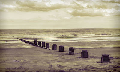 Photograph - Bridlington Beach by Nick Field