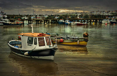 Art Print featuring the photograph Bridlington Reflections by Brian Tarr