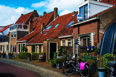 Photograph - Brielle Street. Netherlands by Jenny Rainbow