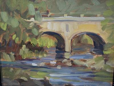 Robert Martin Painting - Brigde To Nowhere by Robert Martin