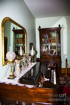 Photograph - Brigham Young Piano by Rick Bragan