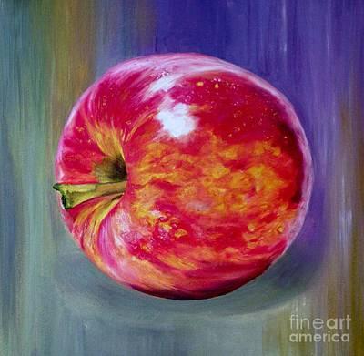 Bright Apple Art Print by Graciela Castro