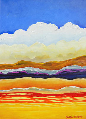 Painting - Bright As A Cumulus Cloud by Dan Whittemore