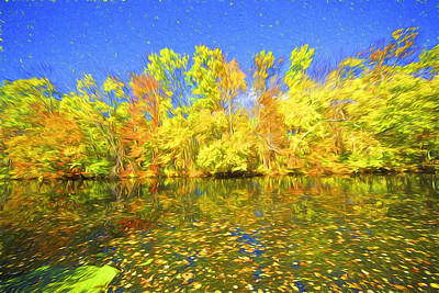 Painting - Bright Autumn Colors by David Letts