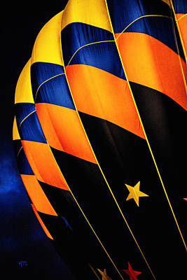 Propane Photograph - Bright Balloon  by Karol Livote