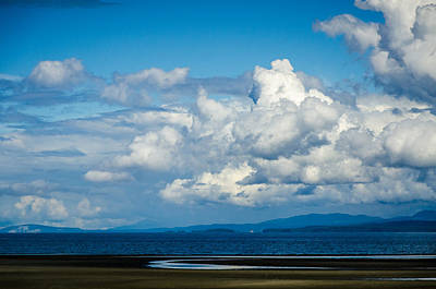 Photograph - Parksville Blue by Roxy Hurtubise