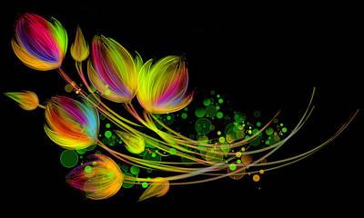 Bright Bouquet Art Print