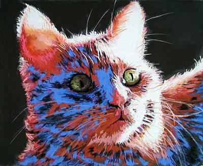 Lynee Sapere Wall Art - Painting - Bright Eyes by Lynee Sapere