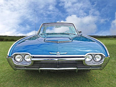 Photograph - Bright Eyes - Sixties Thunderbird by Gill Billington