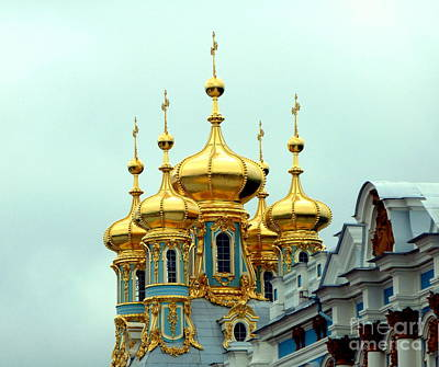 Photograph - Bright Golden Spires by John Potts