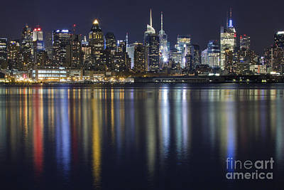 Skylines Photograph - Bright Lights Big City by Marco Crupi